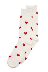 Alfredo Gonzales sokken Hearts ecru, Ecru