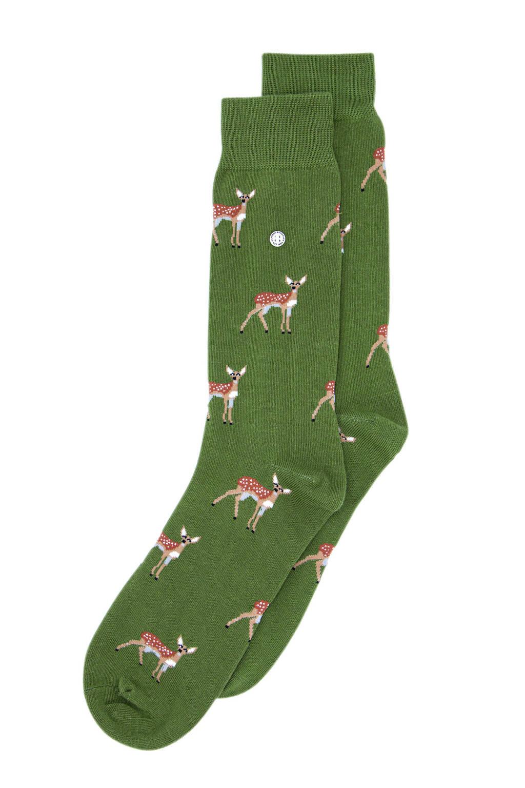 Alfredo Gonzales sokken Deer groen, Groen