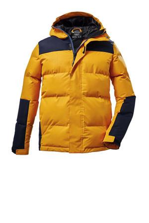kids outdoor jas Kow 31 geel