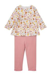C&A Baby Club Tuniek + legging oudroze, Oudroze