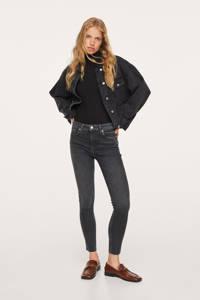 Mango skinny jeans antraciet, Antraciet