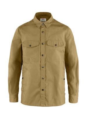 outdoor overhemd lichtbruin