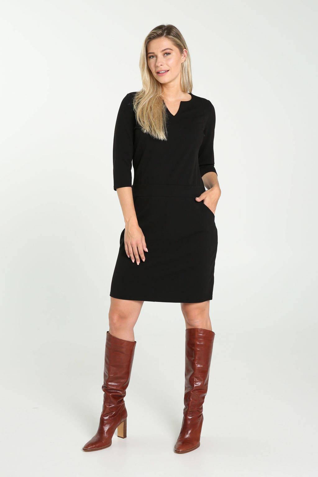 Cassis jurk zwart, Zwart