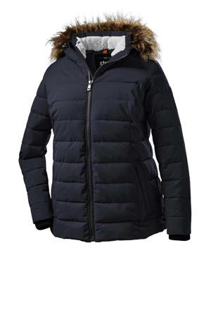 outdoor jas Quilted zwart