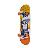 "Move skateboard Cool Boy 28"", Geel/ oranje/ print"