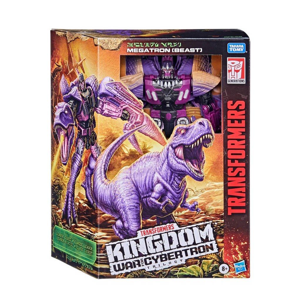 Transformers Generations War For Cybertron - Kingdom Leader Megatron (Beast), Multi