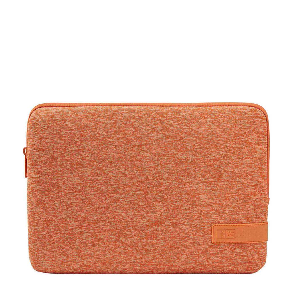 Case Logic Reflect 13 inch laptop sleeve (oranje), Oranje