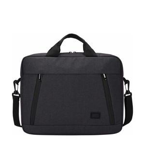 Huxton Attaché 13.3 inch laptoptas (zwart)