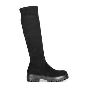 Cybele  hoge stretch laarzen zwart