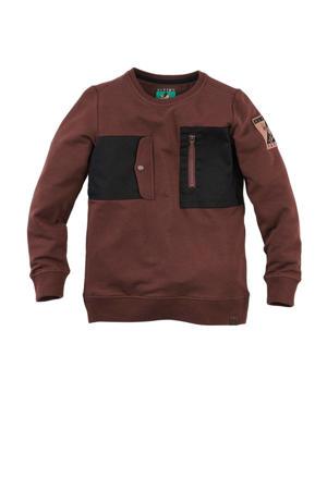 sweater Josh donkerbruin