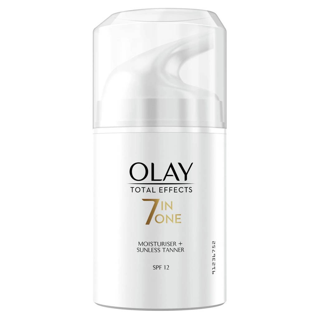 Olay Total Effects - 7in1 hydraterende Dagcrème & Zelfbruiner - SPF12