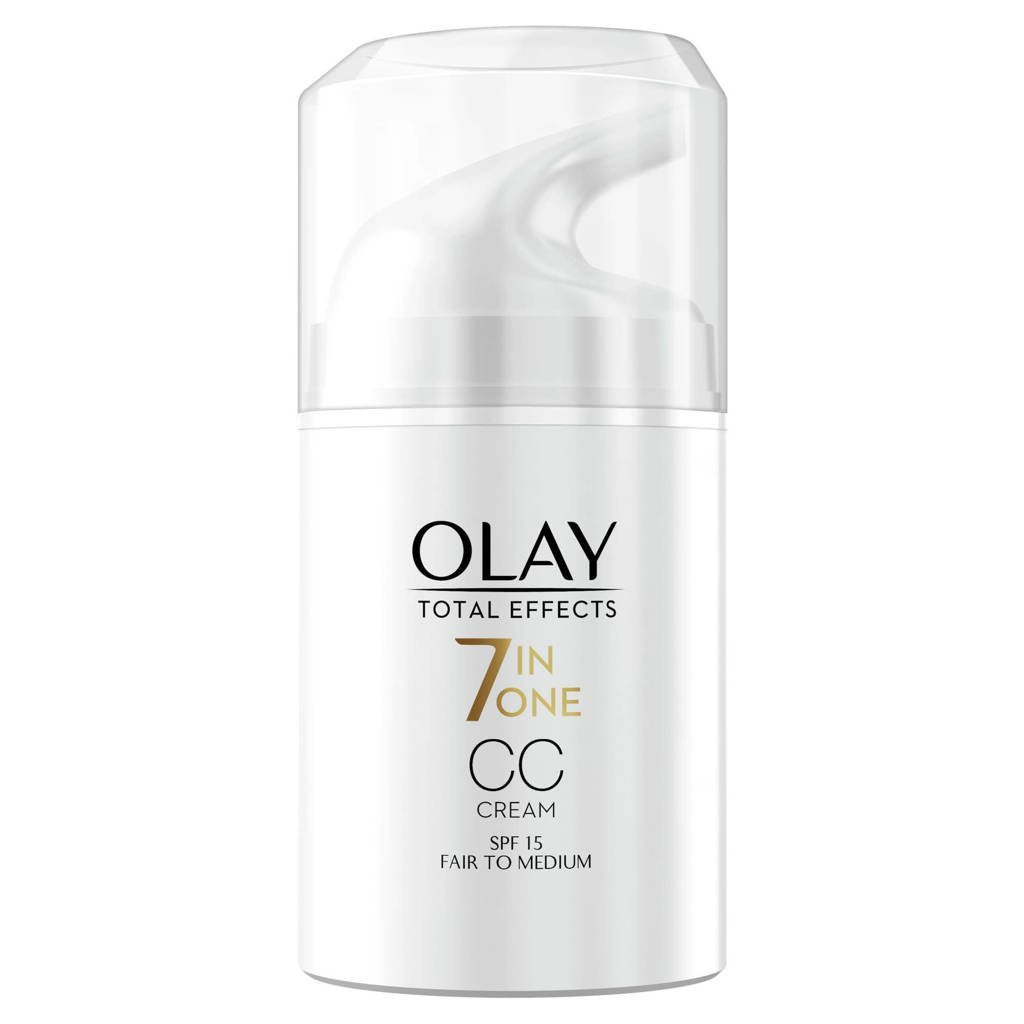 Olay Total Effects - 7in1 CC Crème - Licht tot Medium - SPF15