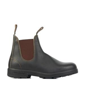 Original 500 leren chelsea boots donkerbruin