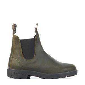 Originals 1615 suède chelsea boots groen