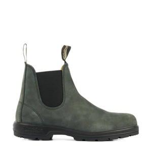 Classic Rustic 587 nubuck chelsea boots antraciet