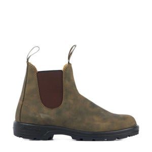 Classic Rustic 585 nubuck chelsea boots bruin