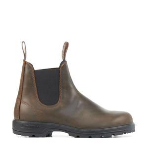 Classic  leren chelsea boots bruin
