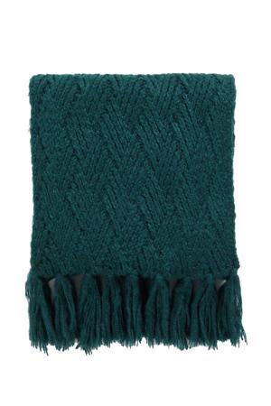 sjaal mosgroen