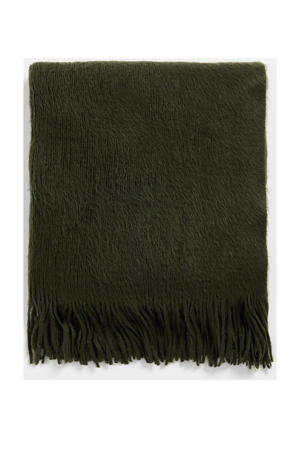 sjaal donkergroen