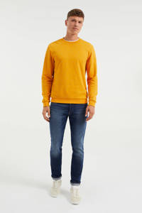 WE Fashion sweater met all over print inca gold, Inca gold