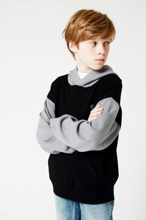 hoodie Killian grijs/zwart