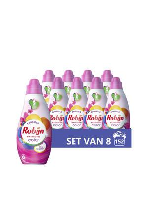 Klein & Krachtig Classics Color Pink Sensation Vloeibaar Wasmiddel - 8 x 19 wasbeurten - Voordeelverpakking - 152 wasbeurten