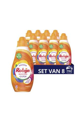 Klein & Krachtig Classics Color Vloeibaar Wasmiddel - 8 x 19 wasbeurten - Voordeelverpakking - 152 wasbeurten