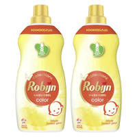 Robijn Klein & Krachtig Collections Zwitsal Color Vloeibaar Wasmiddel - 2 x 34 wasbeurten - Voordeelverpakking - 68 wasbeurten