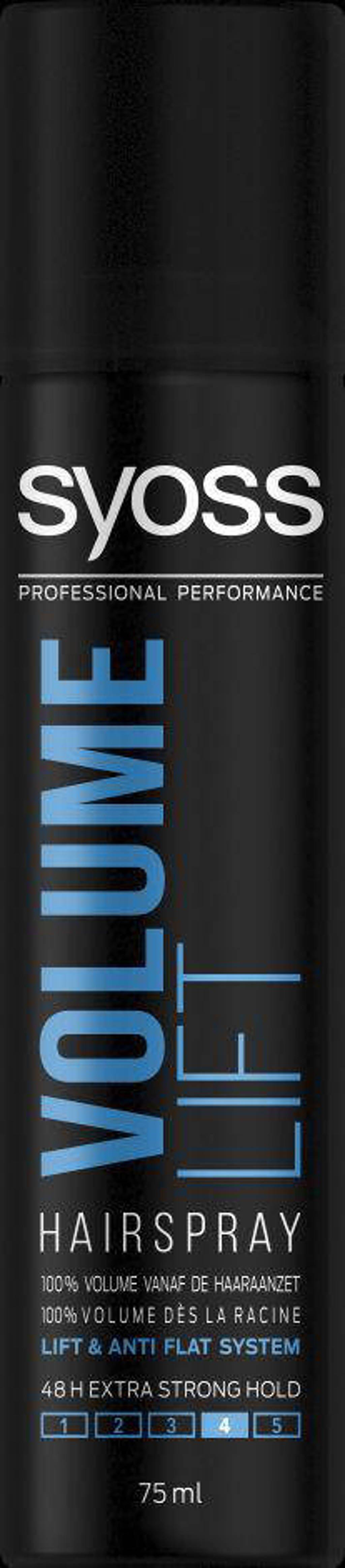 Syoss Styling-Haarspray Volume Lift mini - 12x 75 ml