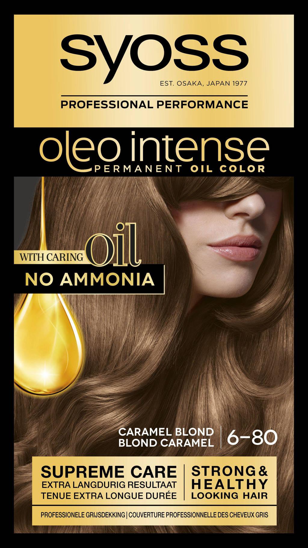 Syoss Oleo Intense 6-80 Caramel Blond, 6-80 caramel blond