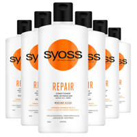 Syoss Conditioner Repair Therapy - 6x 440 ml