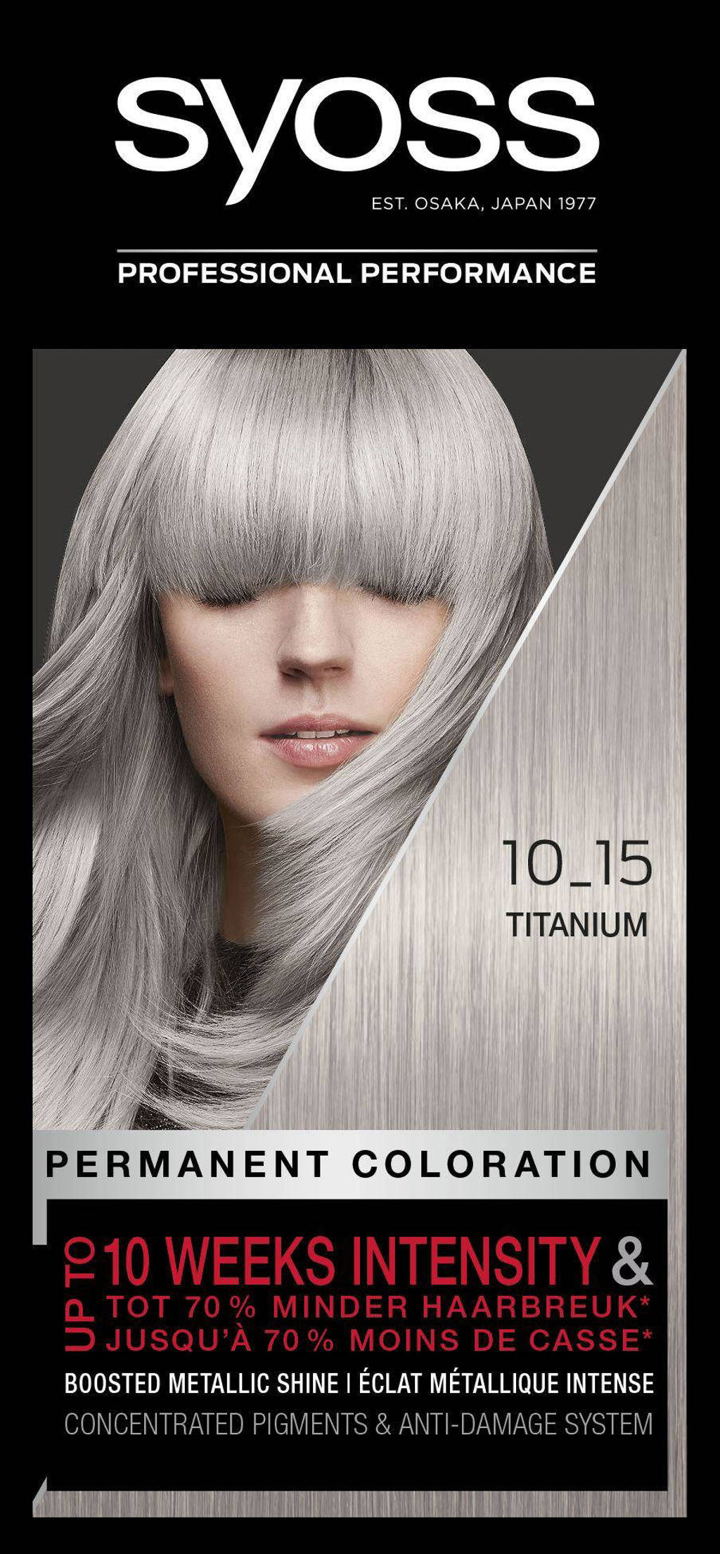 Syoss Color Baseline 10-15 Titanium