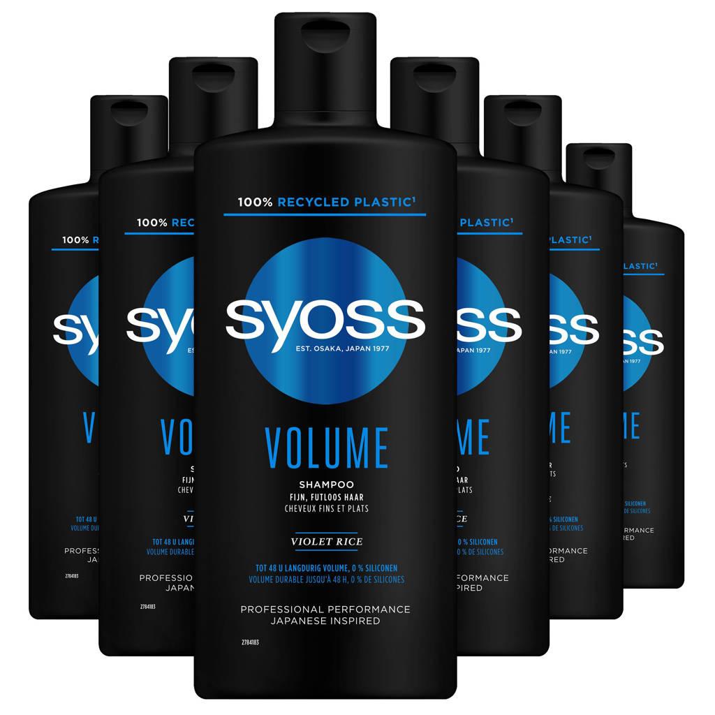 Syoss Shampoo Volume - 6x 440 ml