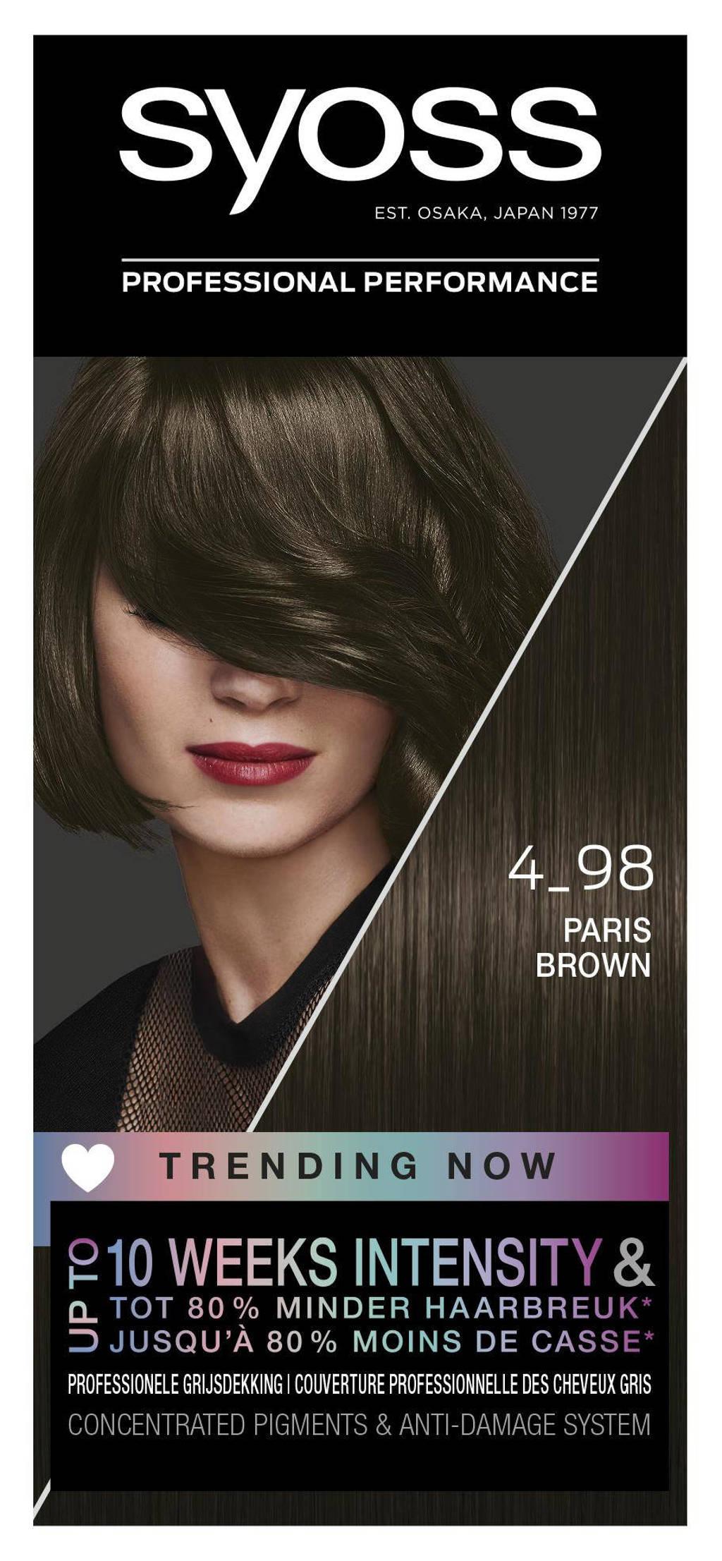 Syoss Color Baseline 4-98 Paris Brown