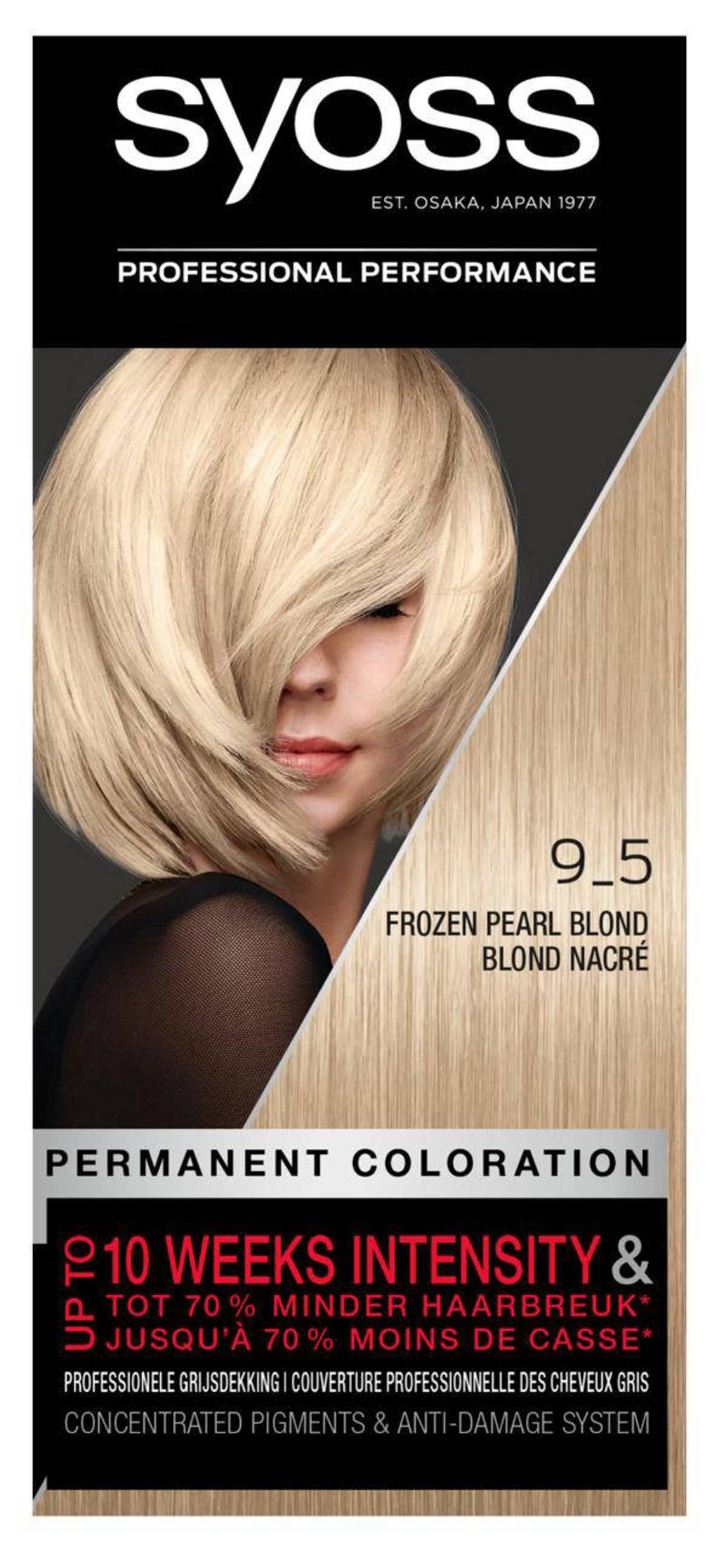 Syoss Color Baseline 9-5 Frozen Pearl Blonde