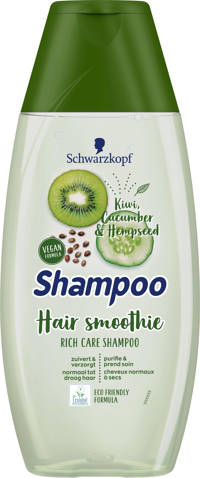 Schwarzkopf Shampoo Hair Smoothie Cucumber, Kiwi & Hemp Seeds - 5x 400 ml