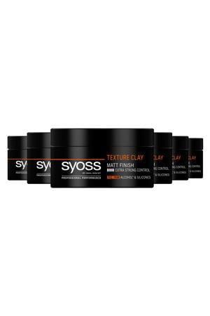 Texture Clay - 6x 100 ml