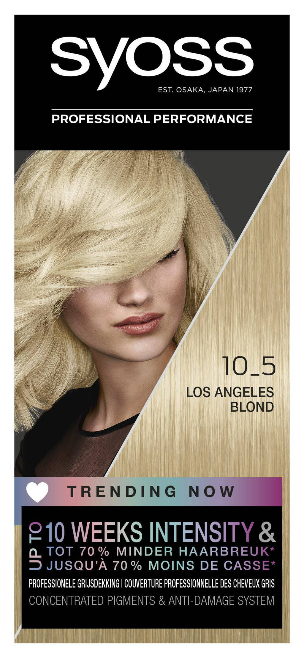 Syoss Color Baseline 10-5 Los Angeles Blond
