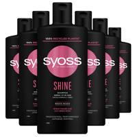 Syoss Shampoo Shine Boost - 6x 440 ml