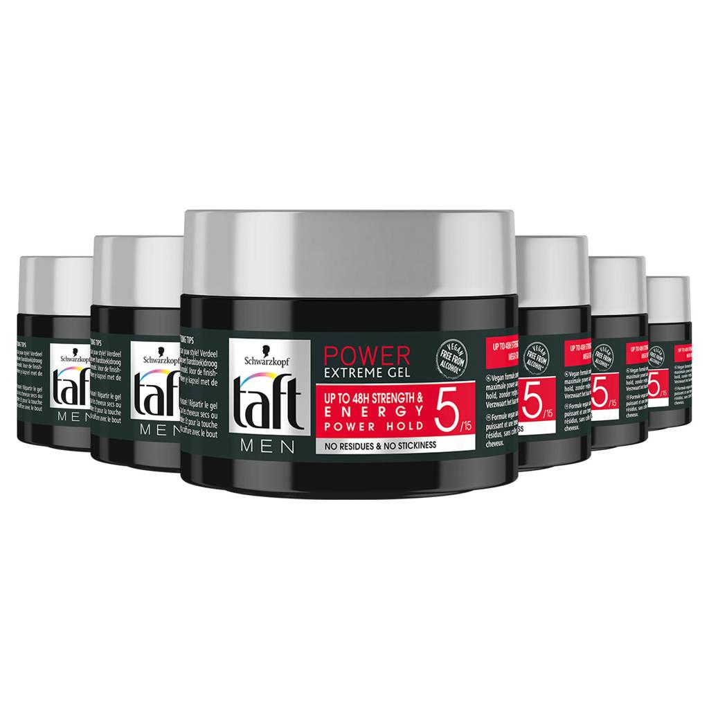 Schwarzkopf Taft Power gel pot - 6x 250 ml