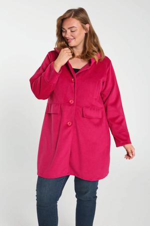 coat fuchsia