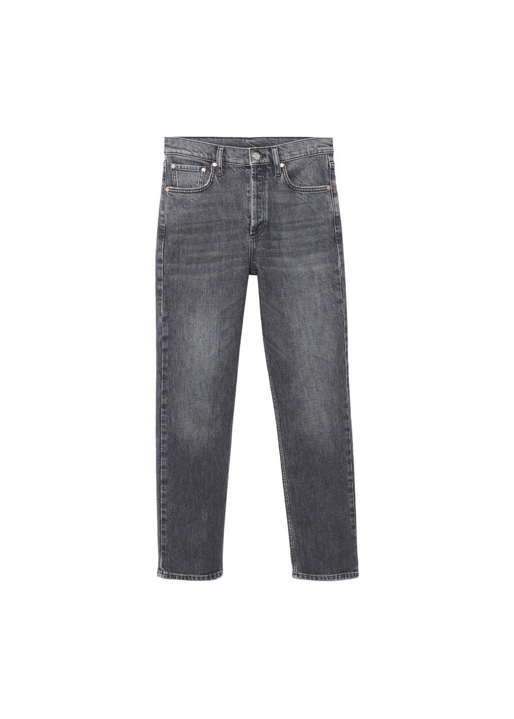 Mango regular fit jeans grey denim, Grey denim