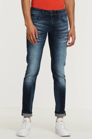 tapered fit jeans Ozzy 7010 blue denim