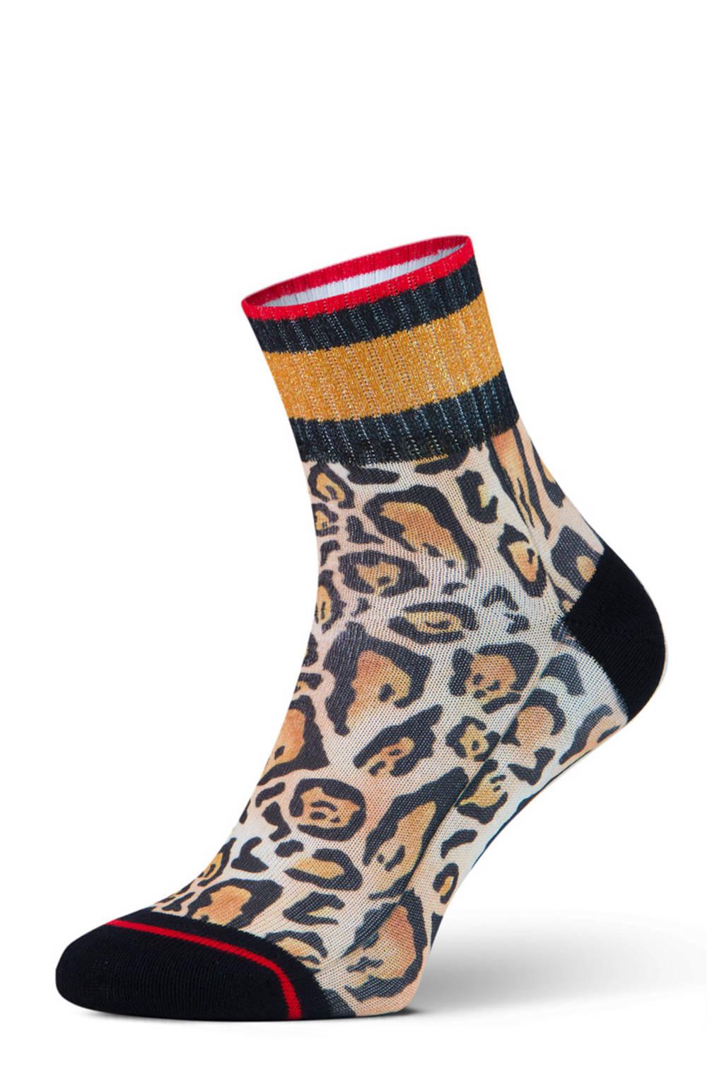 XPOOOS sokken Britney bruin, Bruin