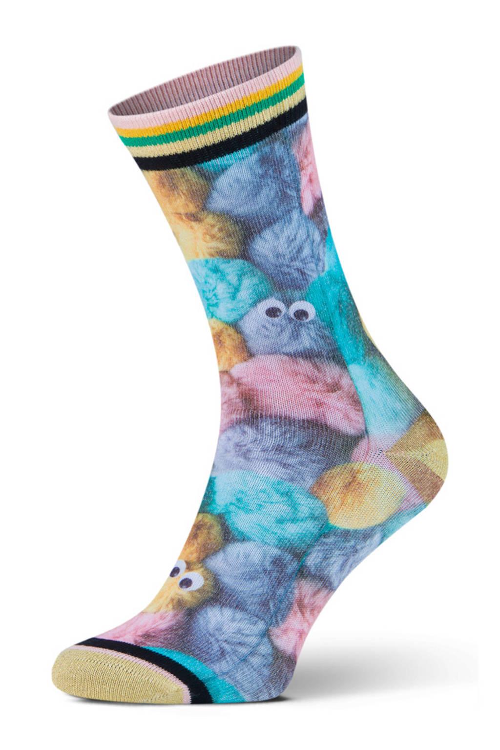 XPOOOS sokken Fluffy multi, Multi