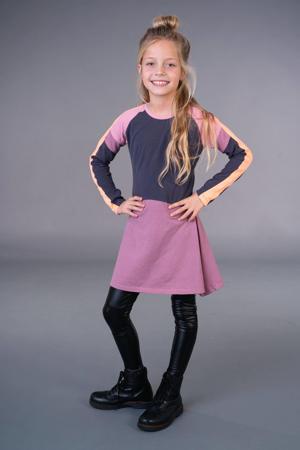 jurk Kamea roze/antraciet