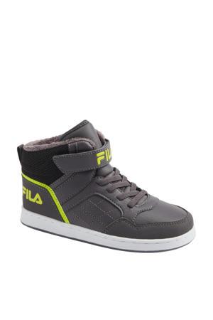 hoge sneakers grijs