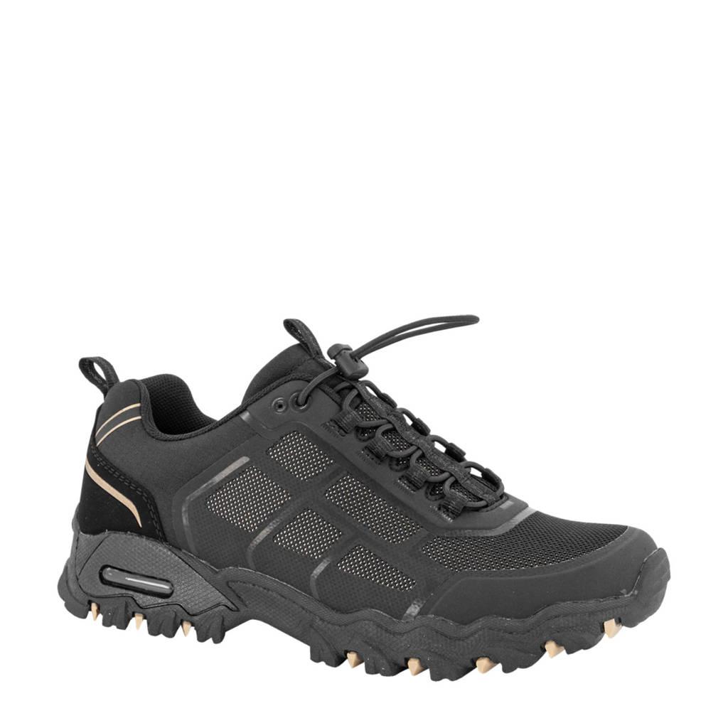 Landrover   wandelschoenen zwart, Zwart/roségoud