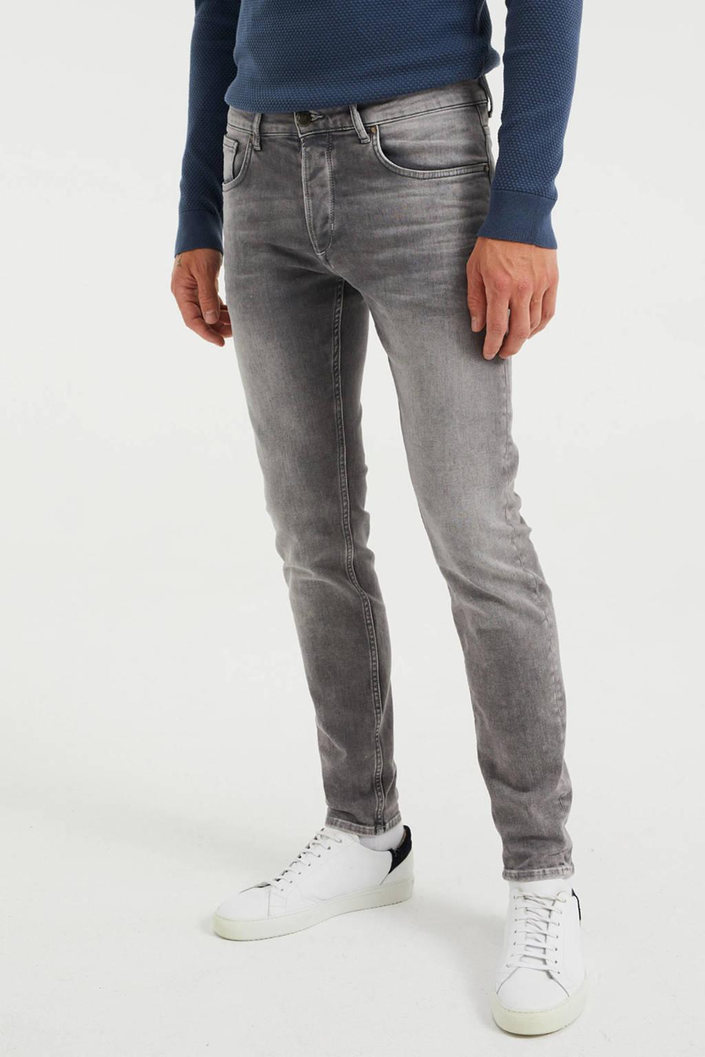 WE Fashion Blue Ridge skinny jog denim light grey denim, Light Grey Denim