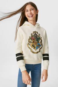 C&A hoodie met printopdruk wit, Wit